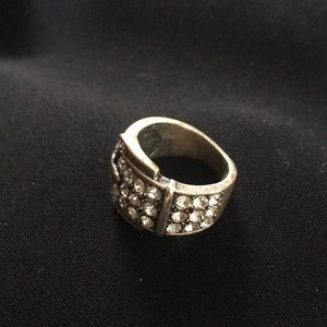 Premier Designs Jewelry - Premier Belt ring with crystals